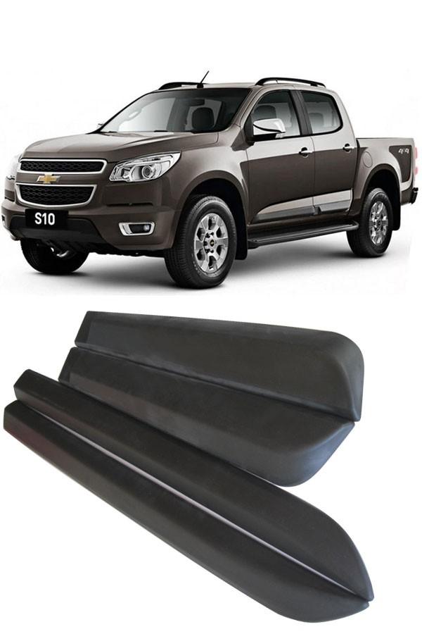 Friso Lateral Chevrolet S10 Modelo Original 2012 até 2017  - Só Frisos Ltda