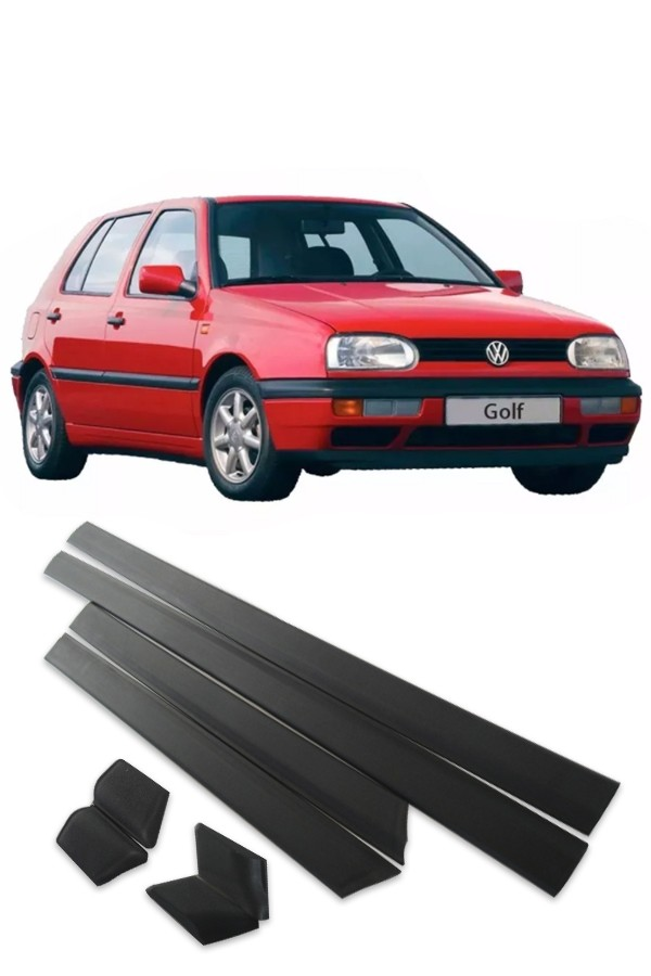 Friso Lateral Volkswagen Golf 1995 até 1998  - Só Frisos Ltda