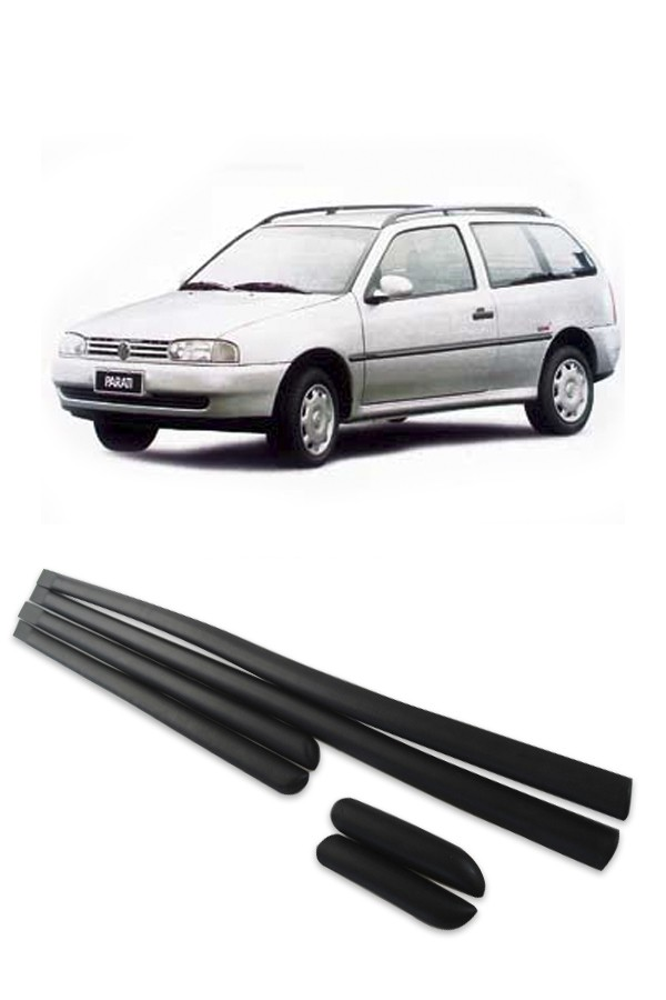 "Friso Lateral Volkswagen Parati ""Bola"" Geração 2  - Só Frisos Ltda"