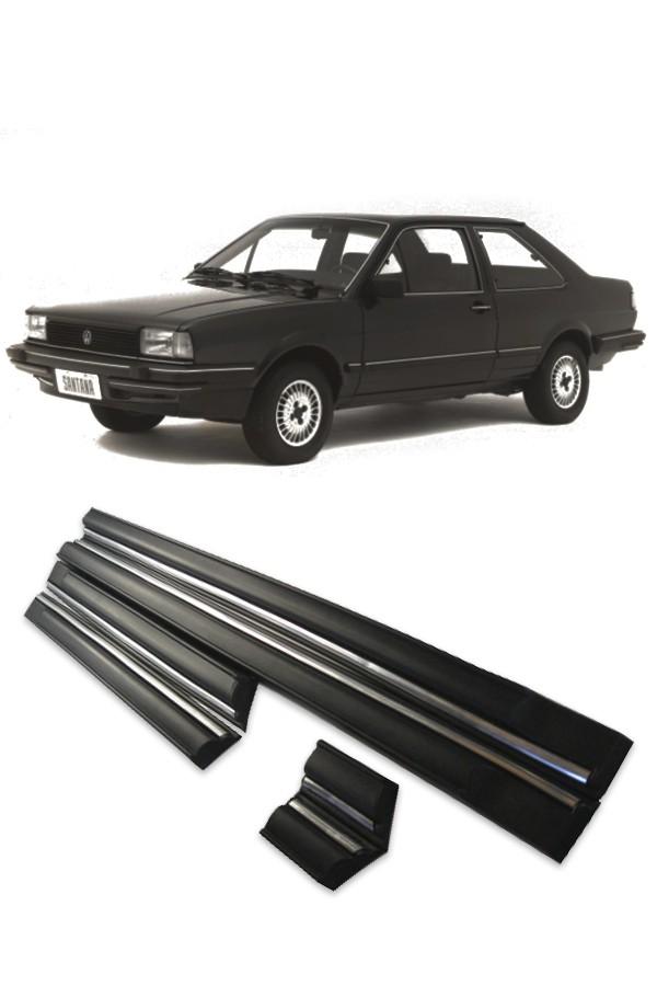 Friso Lateral Volkswagen Santana GLS 4p 1985 até 1990   - Só Frisos Ltda
