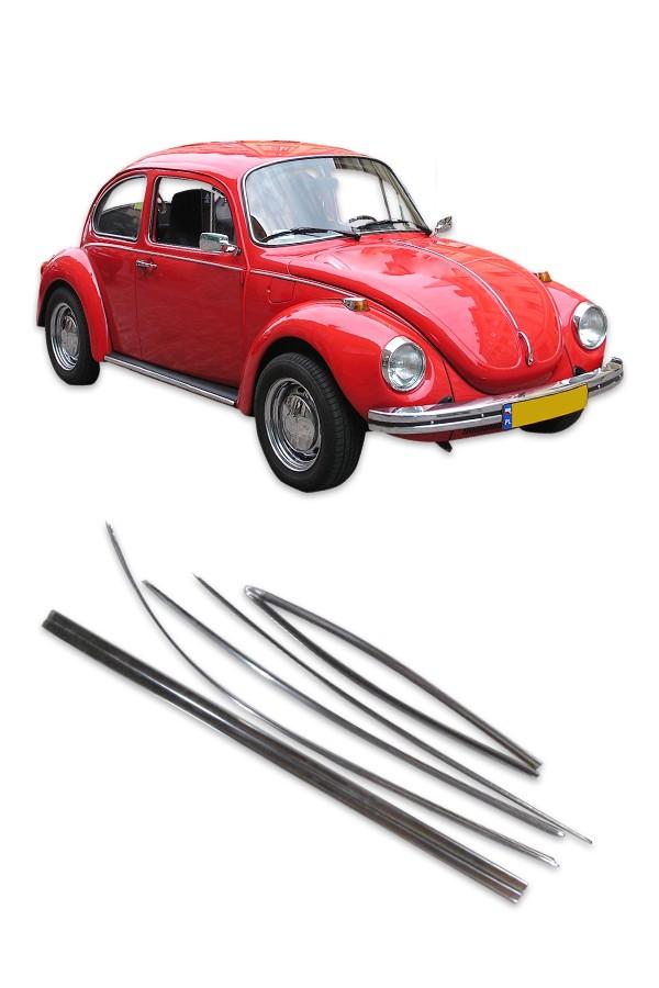 Friso Lateral Volkswagen Fusca até 1970 (largo)  - Só Frisos Ltda