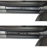 Soleira de Porta Premium Nissan Frontier
