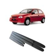 Friso Lateral Modelo largo Chevrolet Corsa 1995 até 1999 2 portas