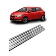 Kit Aplique Cromado Pestana Chevrolet Onix e Novo Prisma