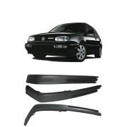 """Spoiler Para-Choque Dianteiro Volkswagen Golf Modelo """"Alemão"""" 1995 até 1999"""