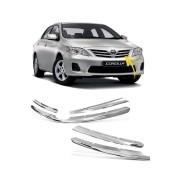 Aplique Cromado Grade Toyota Corolla 2012 a 2014