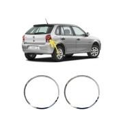 Aplique Cromado Lanterna Traseira Volkswagen Gol G4