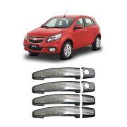 Aplique Cromado Maçaneta Chevrolet Agile