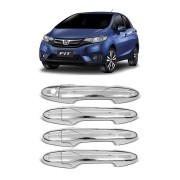 Aplique Cromado Maçaneta Honda Fit, City e WRV 2015/...