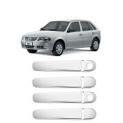 Aplique Cromado Maçaneta Volkswagen Gol G3/G4 4p
