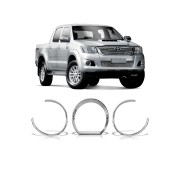 Aplique Cromado Painel Toyota Hilux 2005 até 2012
