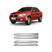Aplique Cromado Para Choque Fiat Siena