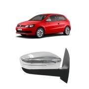 Aplique Cromado Retrovisor Volkswagen Geração 6 - Fox, Gol, Saveiro e Voyage