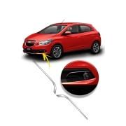 Aplique Cromado Superior Farol de Milha Chevrolet Onix 2015/...