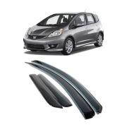 Calha de Chuva Honda Fit (New Fit) 2009 até 2014