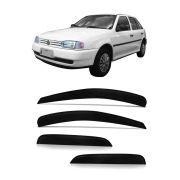 """Calha de Chuva Volkswagen Gol """"Bola"""" e Parati Gerações II,III,IV 98/14"""