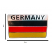 Emblema Badge Bandeira Alemanha