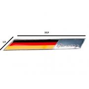 Emblema Badge Bandeira Alemanha Pequena