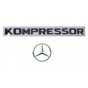 Emblema Kompressor Mercedes Benz C200 C180 SLK200 CLC200