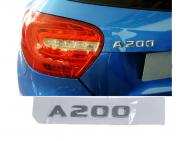 Emblema Tampa Traseira A200 A 200 Mercedes benz