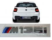 Emblema Tampa Traseira BMW 135M