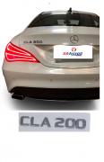 Emblema Tampa Traseira CLA200 CLA 200 Mercedes benz