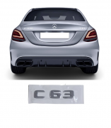 Emblema Tampa Traseira Mercedes Benz C 63 c63