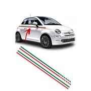 """Faixa Adesiva """"Itália"""" Fiat 500"""