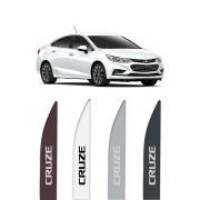"""Friso Lateral Personalizado Modelo """"Ponta Faca"""" Chevrolet Cruze"""