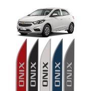 "Friso Lateral Personalizado Chevrolet Onix ""modelo faca"""