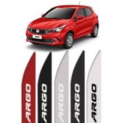 Friso Lateral Personalizado Fiat Argo Vermelho