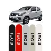 Friso Lateral Personalizado Fiat Mobi - Ponta Redonda
