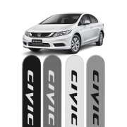 Friso Lateral Honda New Civic 2012 até 2016