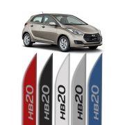 """Friso Lateral Personalizado Modelo """"Faca"""" Hyundai HB20"""
