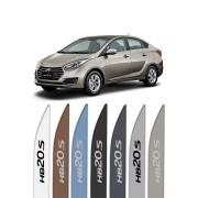 """Friso Lateral Personalizado """"Modelo Faca"""" Hyundai HB20S"""