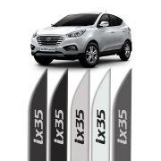 """Friso Lateral Personalizado """"Modelo Faca"""" Hyundai IX35"""