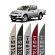 """Friso Lateral Personalizado """"Modelo Faca"""" Mitsubishi L200"""