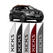 """Friso Lateral Personalizado """"Modelo Faca"""" Nissan Kicks"""