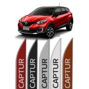 "Friso Lateral Personalizado ""Modelo Faca"" Renault Captur"