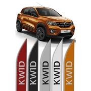 "Friso Lateral Renault Kwid ""Modelo Faca"""