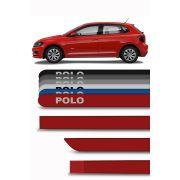 Friso Lateral Personalizado Volkswagen Novo Polo