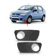 Grade Para Choque Farol De Milha Fiat Palio 2004 até 2007