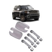 Kit Aplique Cromado Jeep Renegade