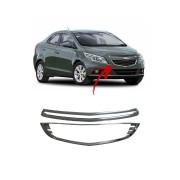 Moldura Da Grade Dianteira Cromado Chevrolet Prisma 2013 até 2016