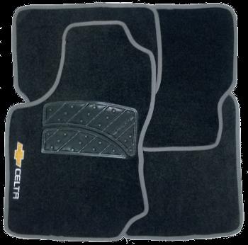 Tapete de Carpete Chevrolet Celta  - Só Frisos Ltda