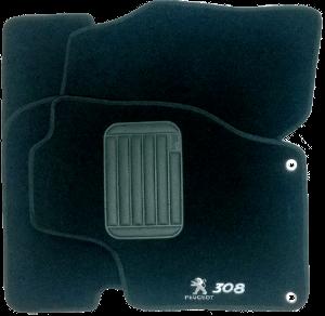 Tapete de Carpete Peugeot 308  - Só Frisos Ltda