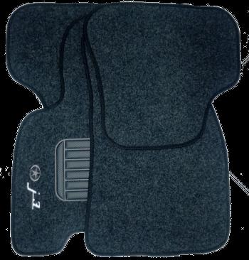 Tapete de Carpete JAC J3  - Só Frisos Ltda