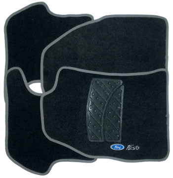 Tapete de Carpete Ford New Fiesta  - Só Frisos Ltda