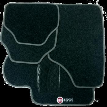 Tapete de Carpete Fiat Uno 2010  - Só Frisos Ltda