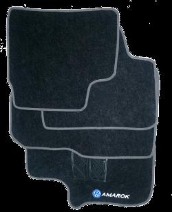 Tapete de Carpete Volkswagen Amarok  - Só Frisos Ltda